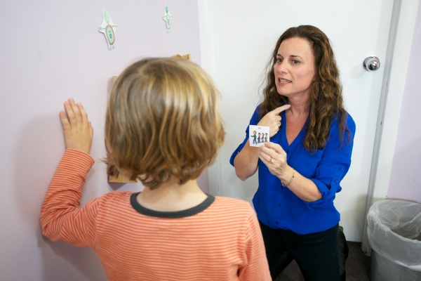 speech-language therapist